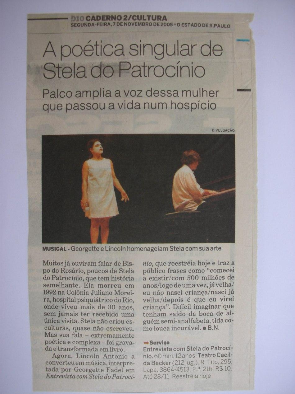temporada no Teatro Cacilda Becker