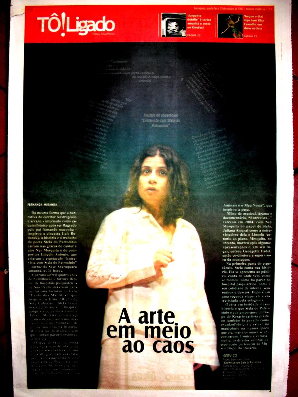 apresentacao em Araraquara